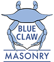 Blue Claw Masonry Logo